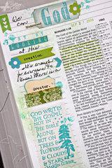 Journaling {Bible} Romans 1:19-20