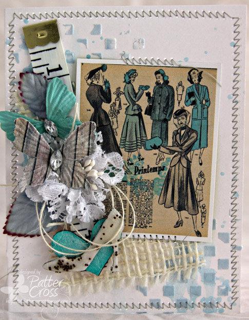 Shopping Card {Blue Fern Studios}