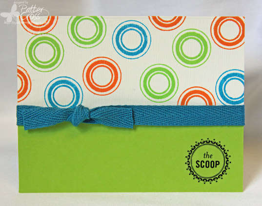 The Scoop {Poppy Stamps}