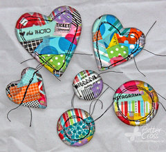 Washi Scrap Embellishments