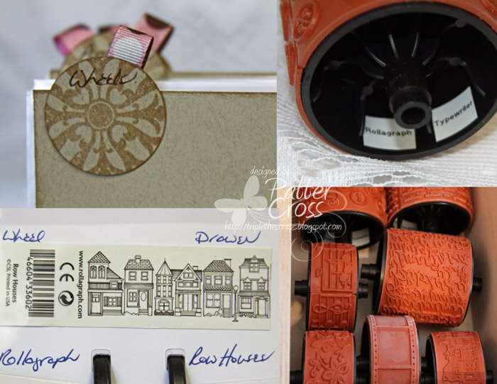Stamp Wheel Storage, Labeling, & Indexing