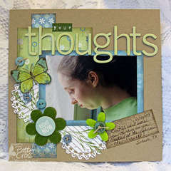 Your thoughts {Memory Box Co.}