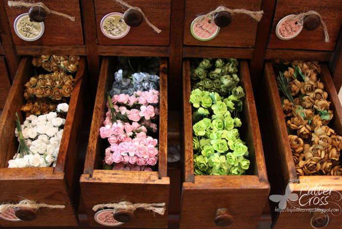 Storing Dimensional Flowers #2