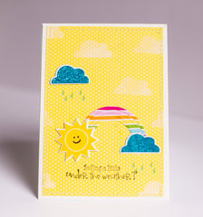 Feeling Under the Weather card