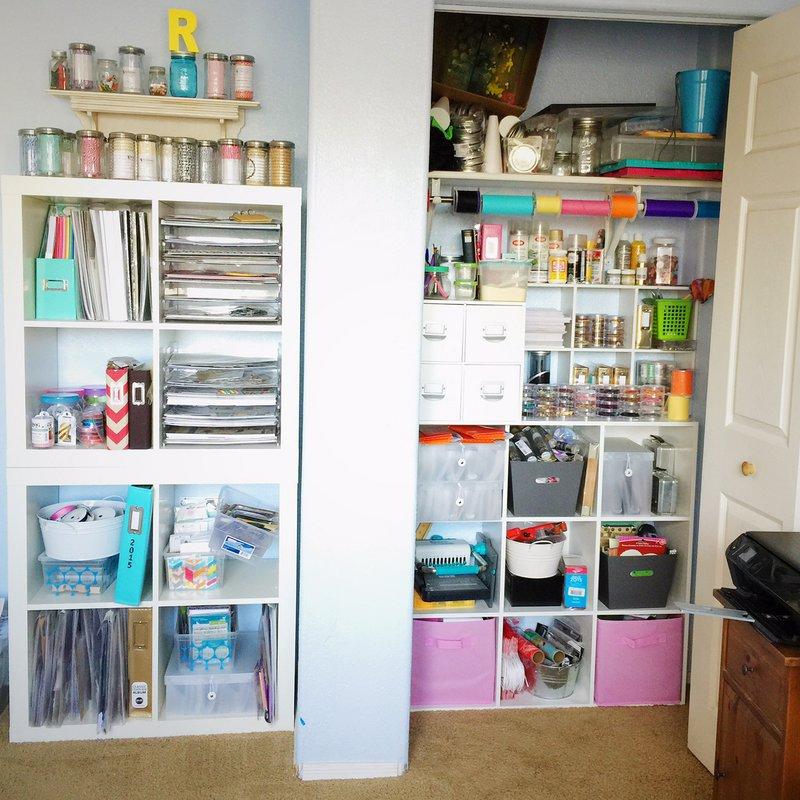 My Studio - Closet and Shelves