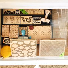 Diaper Table Drawers