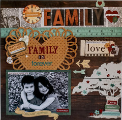 Family is Forever **NEW SIMPLE STORIES**