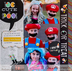 Too Cute to Spook **Therm O Web & Simple Stories