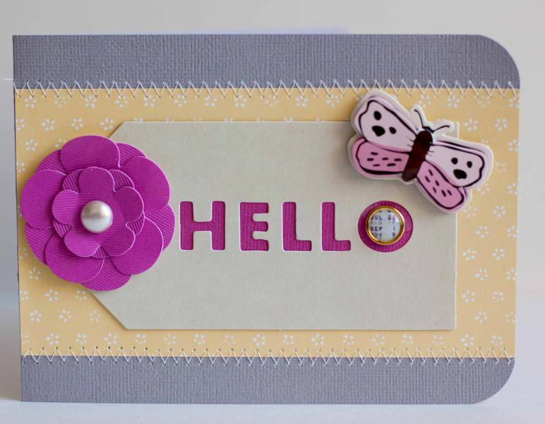 Hello Card *American Crafts*