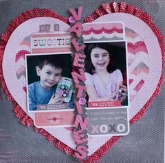 My 2 Valentines **Imaginisce**