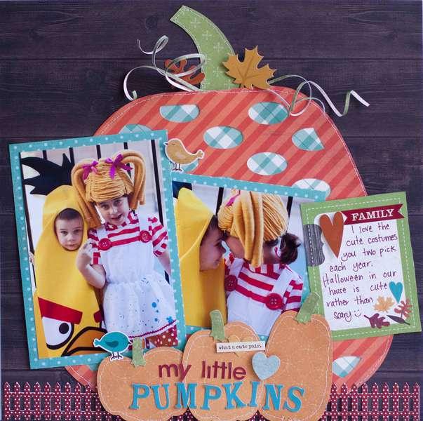 My Little Pumpkins *Simple Stories*