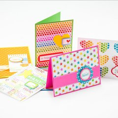 Card Set from Scraps