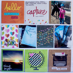Life Documented w/ Simple Stories - September 2015