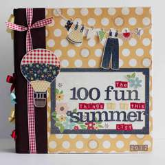 100 Fun Things to do This Summer *Simple Stories*