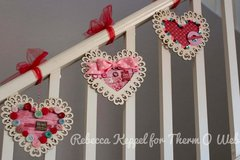 Valentine's Day Decorations with Therm O Web