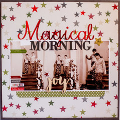 Magical Morning *Therm O Web & Simple Stories*