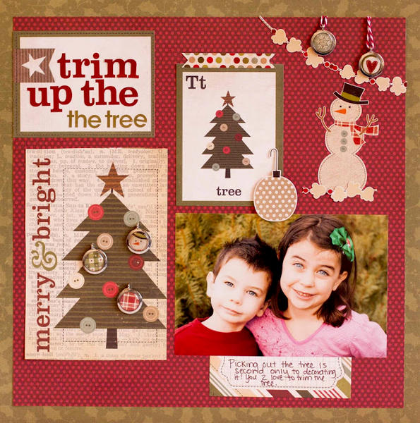 Trim Up the Tree *Simple Stories*