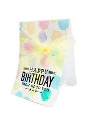 Happy Birthday Water Colors