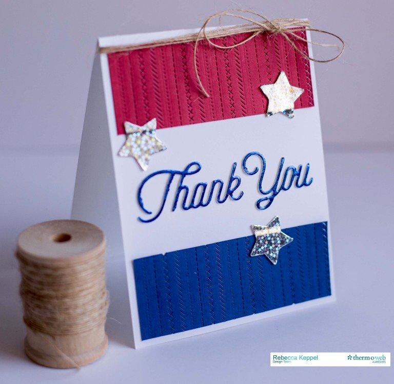 Thank You **Therm O Web Deco Foils**