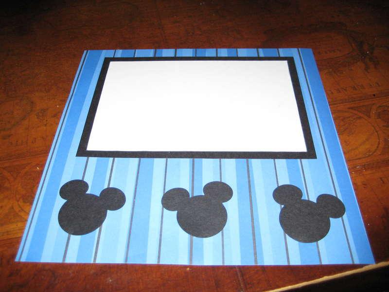 Disney Album 8x8