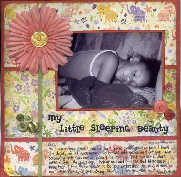 My Little Sleeping Beauty