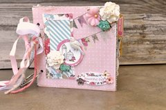 Chipboard Mini Album