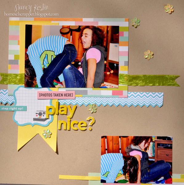 play nice - The Sampler Kit Club