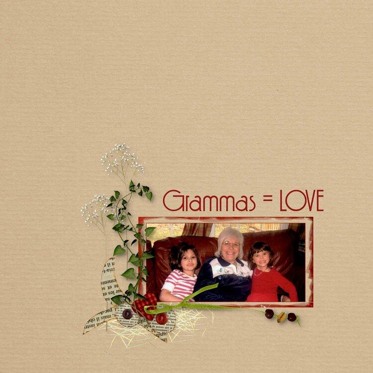Grammas = LOVE