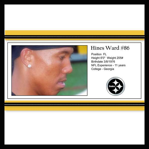 Hines Ward - Steeler Camp Page 1