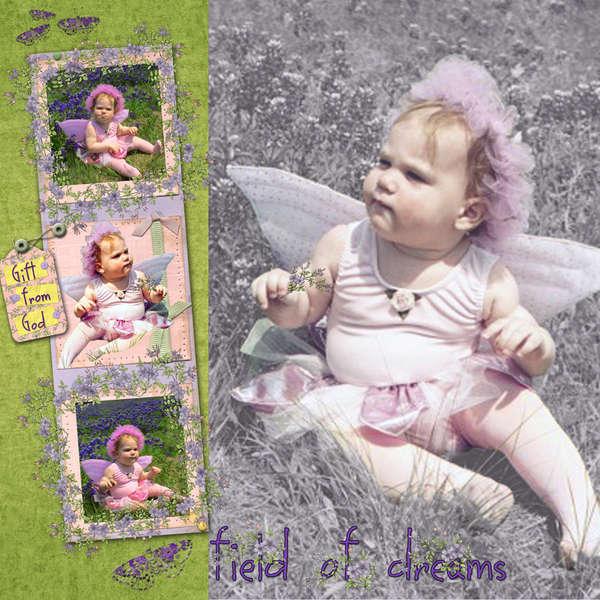 Lavendar Angel