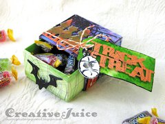 Trick or Treat Candy Box