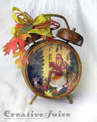 Woodlands Fairy Assemblage Clock