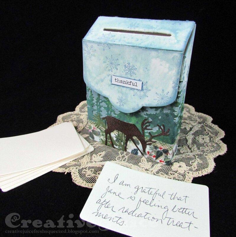 Feeling Grateful Post Box