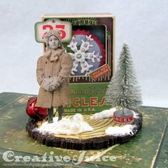 Christmas Vignette Box