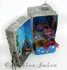 Outer Space Treasure Box