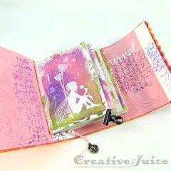 Felt Wrapped Journal
