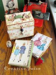 Treasure Box sewing kit