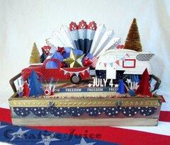 4th of July Patriotic Decor Piece