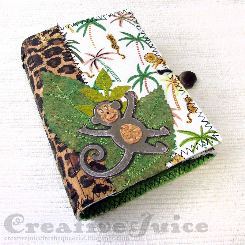 Jungle Wrapped Journal