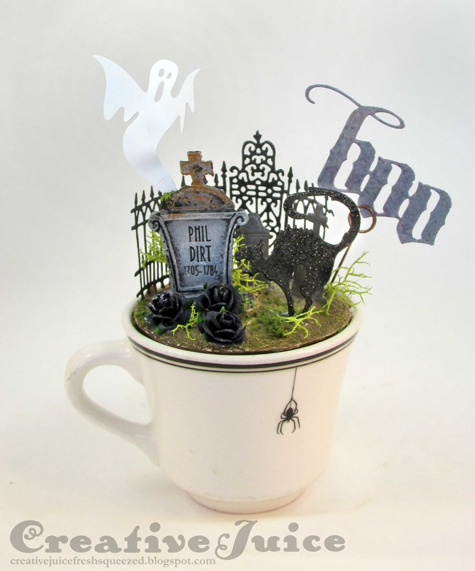 Cup 'o Creep Halloween decor
