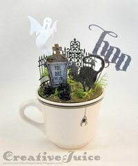 Cup 'o Creep Halloween decor