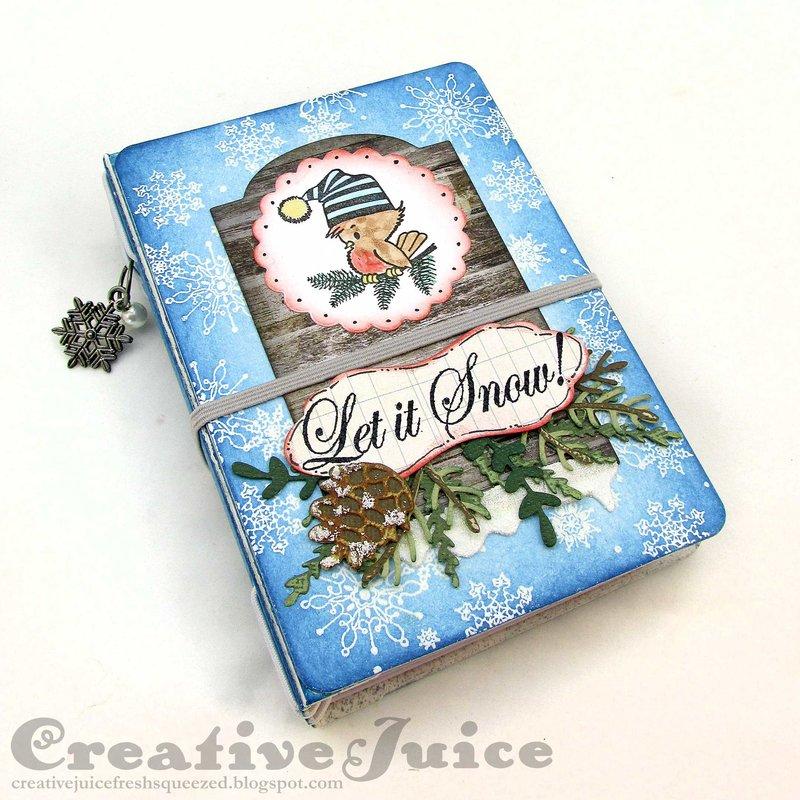 Christmas Passport Book mini album