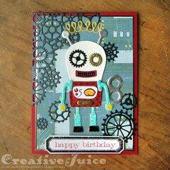 Robotic Birthday Card