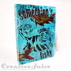 Something's Fishy Journal Cover