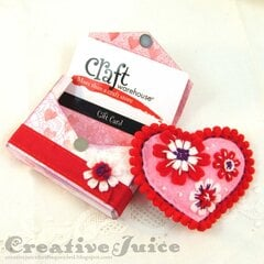 Tiny Book Case Valentine & Gift Card Holder