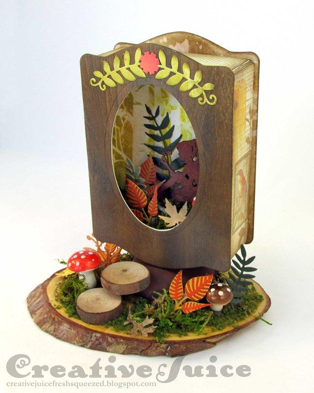 Fall Fairy Woodland Scene
