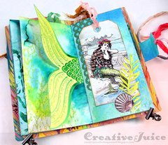Mermaid Junk Journal