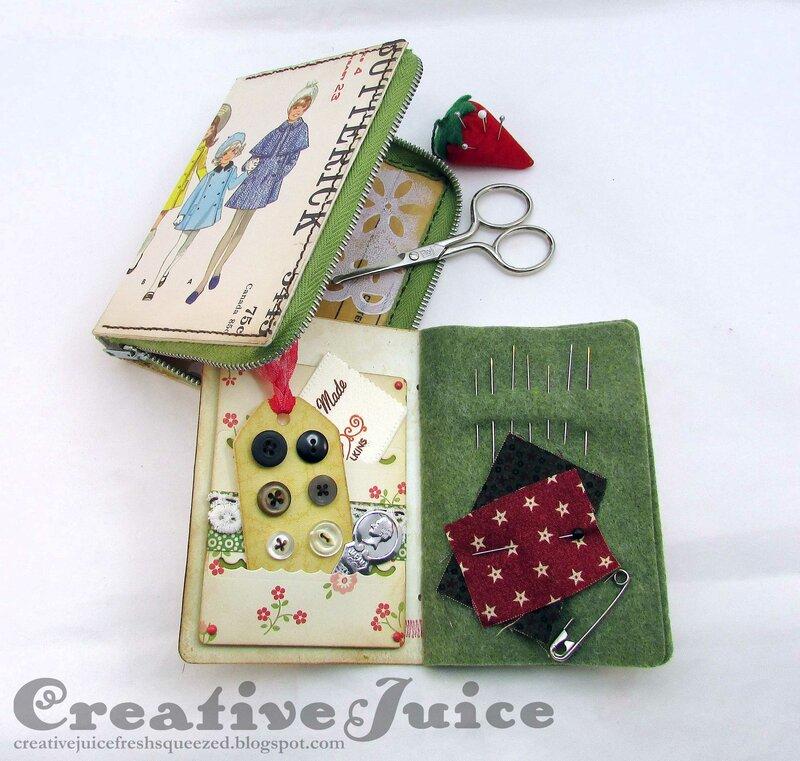 Sewing Box Notebooks