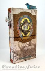 Sizzix Journal Die - bird watching journal