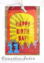 Happy Birthday - You're 11!